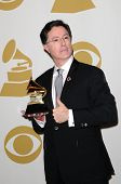 Stephen Colbert at the 52nd Annual Grammy Awards, Press Room, Staples Center, Los Angeles, CA. 01-31