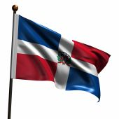 High Resolution Flag Of Dominican Republic