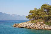 Aegean Sea Landscape. Turkey. Marmaris.