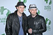Joel Madden and Benji Madden at the 7th Annual Global Green USA's Pre-Oscar Party, Avalon, Hollywood, CA. 03-03-10
