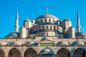 image of breathtaking  - The breathtaking Blue Mosque in Istanbul turkey - JPG