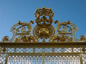 Fragment of the Gate at Versailles Palace