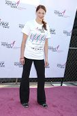 Amanda Righetti at the 14th Annual Susan G. Komen LA County Race for the Cure, Dodger Stadium, Los Angeles, CA. 03-14-10