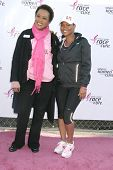 Cynthia Chambers and Nia Long at the 14th Annual Susan G. Komen LA County Race for the Cure, Dodger Stadium, Los Angeles, CA. 03-14-10
