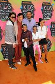 Trey Smith, Jackie Chan, Jaden Smith, Will Smith, Willow Smith, Jada Pinkett Smith at the Nickelodeon's 23rd Annual Kids' Choice Awards, UCLA's Pauley Pavilion, Westwood, CA 03-27-10