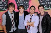 Big Time Rush at the Nickelodeon's 23rd Annual Kids' Choice Awards, UCLA's Pauley Pavilion, Westwood