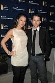 America Olivo and Christian Campbell  at the National Lab Day Kick-Off Dinner, Luxe Hotel, Los Angeles, CA. 04-01-10