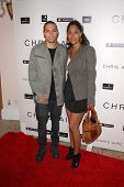 Evan Ross and Tracee Ellis Ross at the introduction of the Chris ire