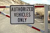 Authorized Vehicles Only