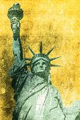 Liberty Grunge Background