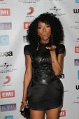 Brandy Norwood at the NARM Music Biz Awards Dinner Party, Century Plaza Hotel, Century City, CA 05-1