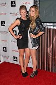 Lauren Bosworth and Lauren Conrad at the MAXIM magazine and Ubisoft launch of Assassin's Creed II, Voyeur, West Hollywood, CA. 11-11-09