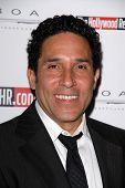Oscar Nunez at the Hollywood Reporter