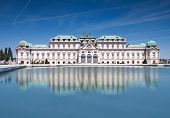 picture of sissi  - Belvedere castle located in beutiful Vienna Austria - JPG