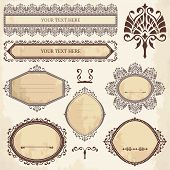 Vector Collection Of Ornamental Elements