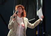 Susan Sarandon on stage