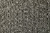 Gray Knitted Wool Texture Or Background