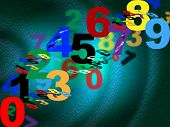 Counting Maths Means Background Design And Numbers