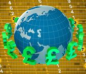 Pounds Forex Means Worldwide Trading And Currency