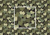 heart camouflage