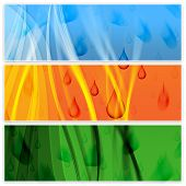 Rain Copyspace Represents Downpour Abstract And Squally