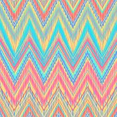Aztec zigzag