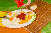 Ketchup On Eggs