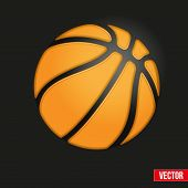 Symbol Soft Basketball Ball