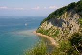 Cliff Over The Sea