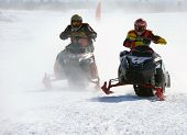 Snow Cross-country Race.