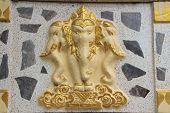 the elephant Erawan statue