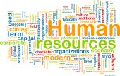 stock photo of human resource management  - Background concept illustration of human resources management - JPG