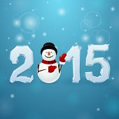 Ice 2015 With Snowman
