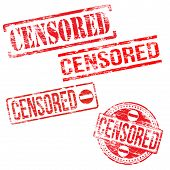 Censored Stamps