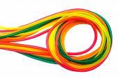 Oxygen Line Of Multi-colored