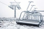 Nonfunctional Ski Lift