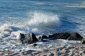 Ocean Surf Waves