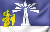 Flag Of Alexandria, Egypt.