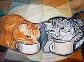 Coffee Break Cats
