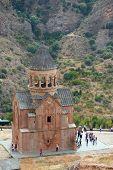 beautiful Noravank monastery in Armenia