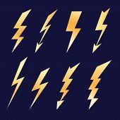 Lightning Icon Set