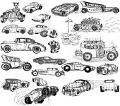 Fictional Cars and New