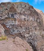 The Layers Of  Minerals Bedding