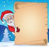 Christmas topic parchment 3 - eps10 vector illustration.