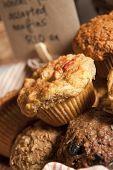 Muffins at bake sale