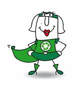 Karen the super recycling woman. Karen is a super recycling woman. She wants help your company to recycling your wastes