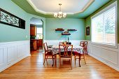 Mint Tone Dining Room