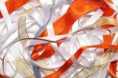 Lots of ribbons