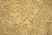 stock photo of concrete  - Concrete wall in grungy look with structure - JPG