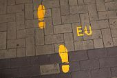 picture of european  - Footsteps to the European Union - JPG